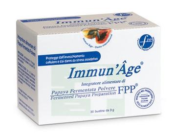 ImmunAge Linea Intergatori Rigeneranti Papaya Liofilizzata 30 Buste Orosolubili