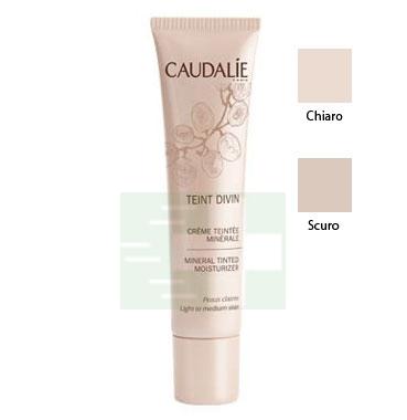 Caudalie Linea Make-up Teint Divine Crema Colorata Minerale Colore Chiaro 30 ml