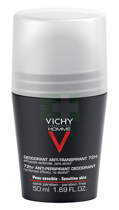 Vichy Linea Homme Deo Deodorante Uomo Anti-Traspirante Roll-on 72h 50 ml