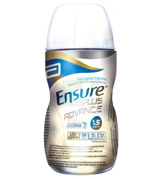Abbott Linea Nutrizione Domiciliare Ensure Plus Advance 4x220 ml Gusto Vaniglia
