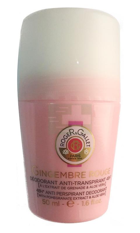 Roger&Gallet Linea Gingembre Rouge Zenzero Deodorante Antitraspirante 48h 50 ml