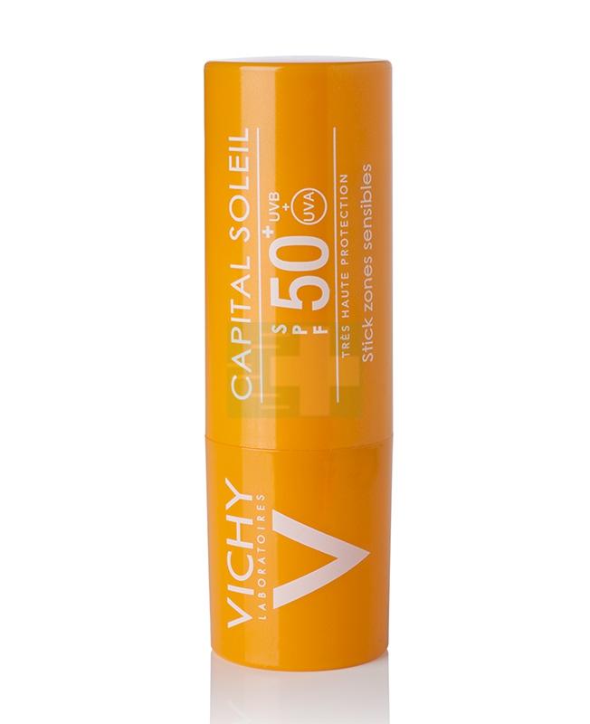 Vichy Linea Ideal Soleil SPF50+ Stick Solare Protettivo Zone Sensibili 9 g