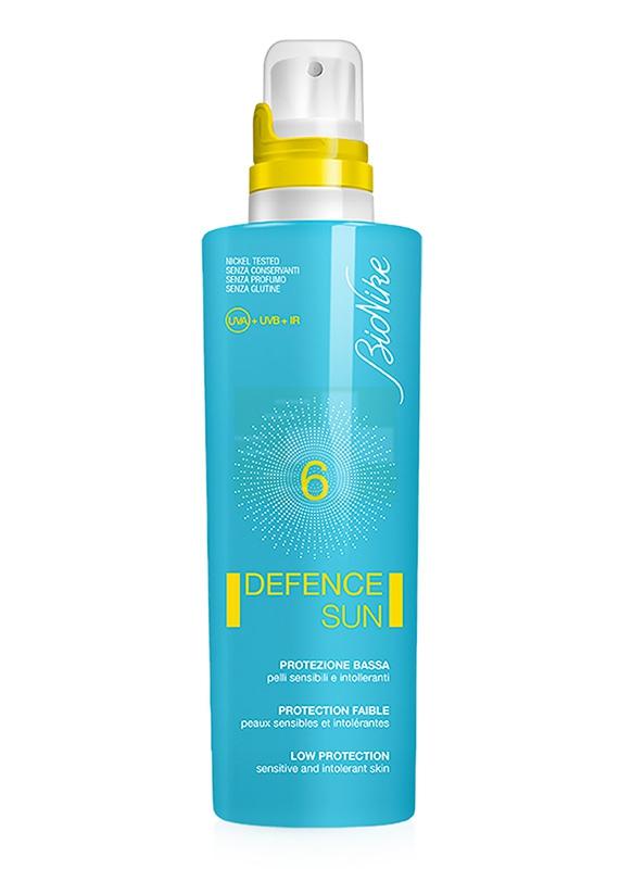 BioNike Linea Defence Sun SPF6 Latte Fluido Corpo Pelli Sensibili 125 ml