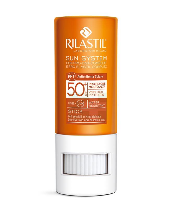 Rilastil Linea Sun System PPT SPF50+ Stick Large Zone Sensibili Delicate 8,5 ml