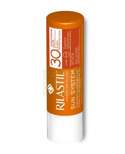 Rilastil Linea Sun System PPT SPF30 Stick Large Zone Sensibili Delicate 4,5 ml