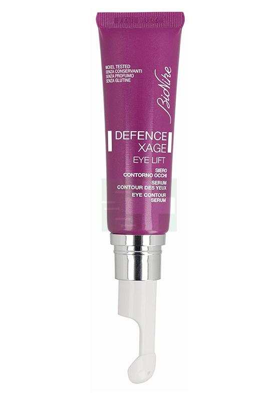 BioNike Linea Defence Xage Eye Lift Siero Levigante Anti-Età Contorno Occh 15 ml