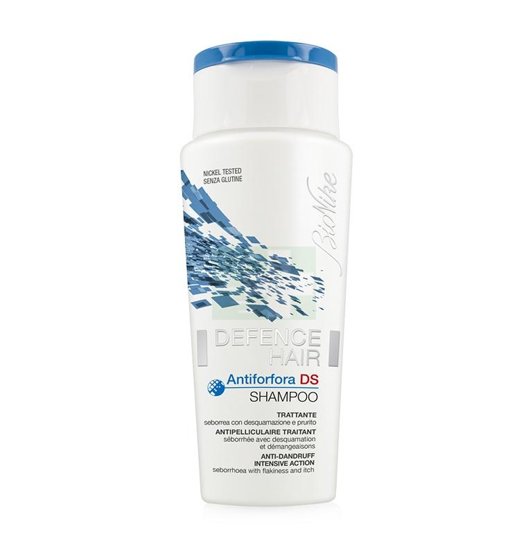 BioNike Linea Defence Hair Shampoo Trattante Antiforfora DS Normalizzante 125 ml