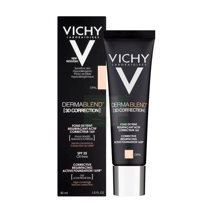 Vichy Make-up Linea Dermablend 3D Correction Fondotinta Elevata Coprenza Bronze