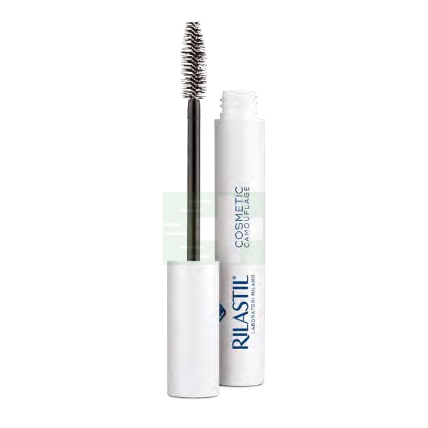 Rilastil Make-up Linea Camouflage Mascara Rinforzante Volumizzante Nero 8 ml