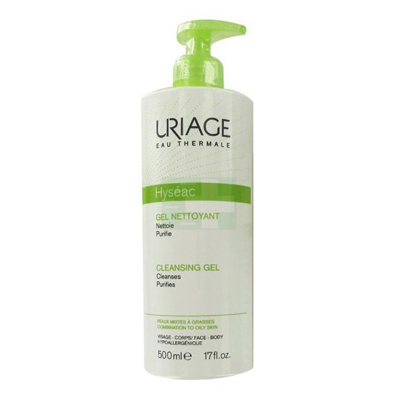 Uriage Linea Pelle Grassa Impura Hyseac Gel Detergente Purificante Viso 500 ml