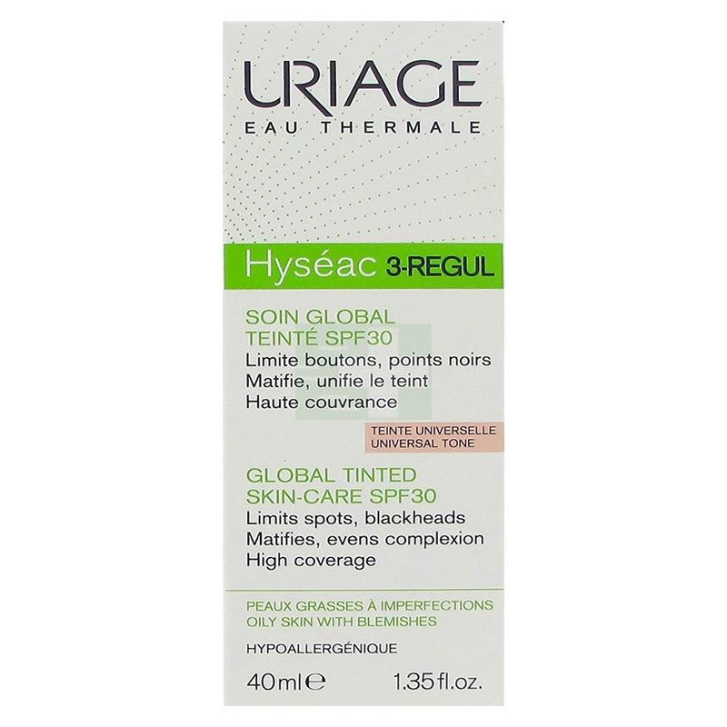 Uriage Linea Pelle Grassa Impura Hyseac 3 Regul Colorato Trattamento 3in1 40 ml