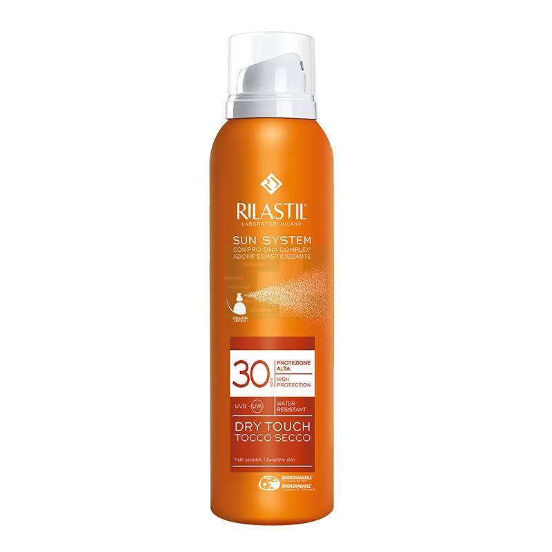 Rilastil Linea Sun System PPT SPF30 Dry Touch Spray Effetto Asciutto 200 ml