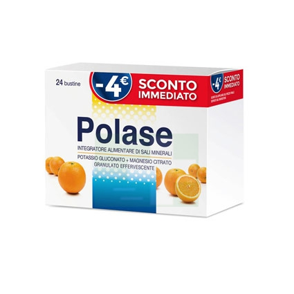 Polase Linea Sali Minerali Integratore Alimentare Granulato 24 Buste Arancia Off